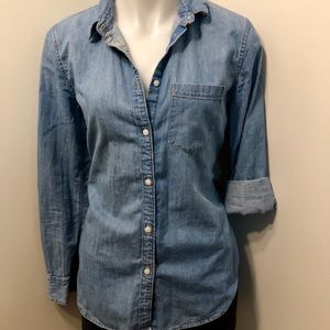 Gap Jean Shirt Size Small